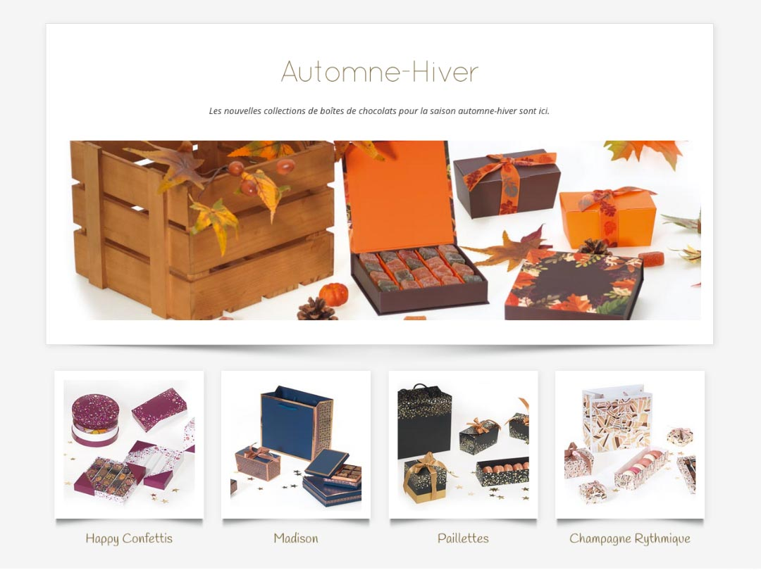 Nouvelles collections Embaline Automne-hiver 2018