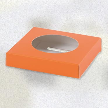 Socle œuf orange