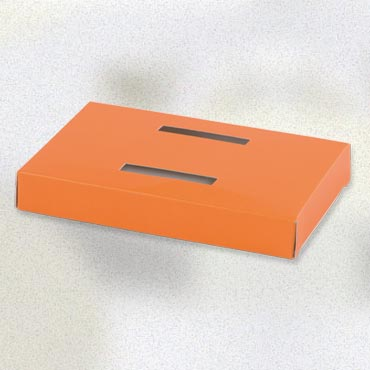 Socle poule orange